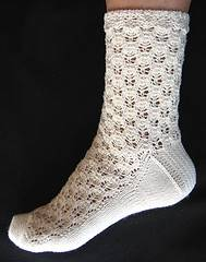 early spring sock