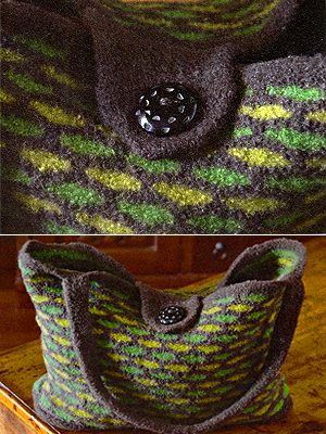 Felted Weekend Tote